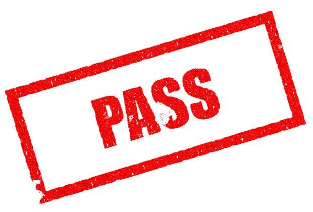 pass or fail
